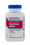 Pharmasave Heartburn Relief - Fruit Flavour -  Aluminum Free Tablets - Simpsons Pharmacy