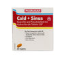 Pharmasave Cold + Sinus Relief - 10 Caplets - Simpsons Pharmacy