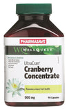 Pharmasave WellQuest UltraCran Cranberry Concentrate 500mg Vegetarian Capsules - Simpsons Pharmacy