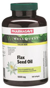 Pharmasave WellQuest Flax Seed Oil 1000mg Softgels - Simpsons Pharmacy