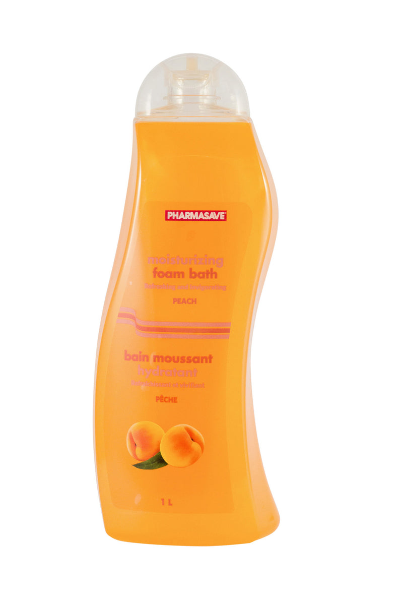 Pharmasave Foam Bath Peach - Simpsons Pharmacy