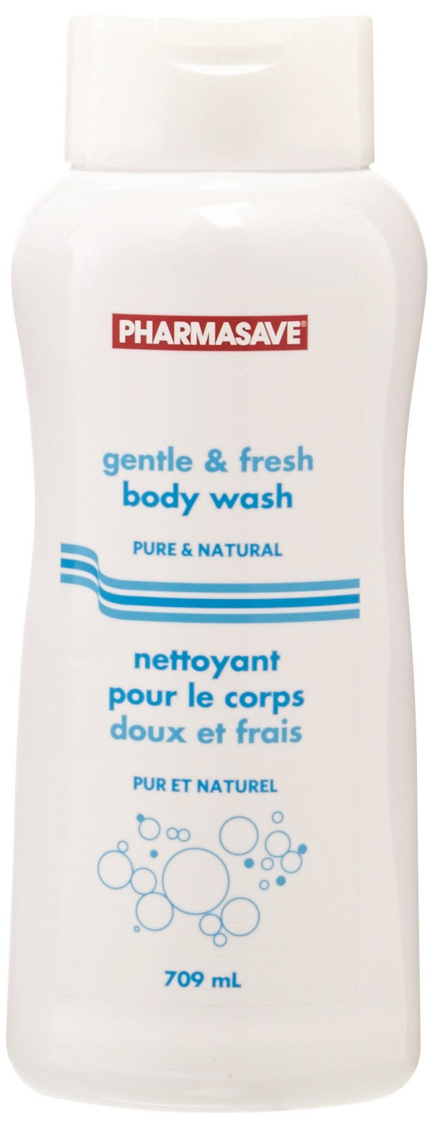 Pharmasave Gentle & Fresh Body Wash Pure & Natural - Simpsons Pharmacy