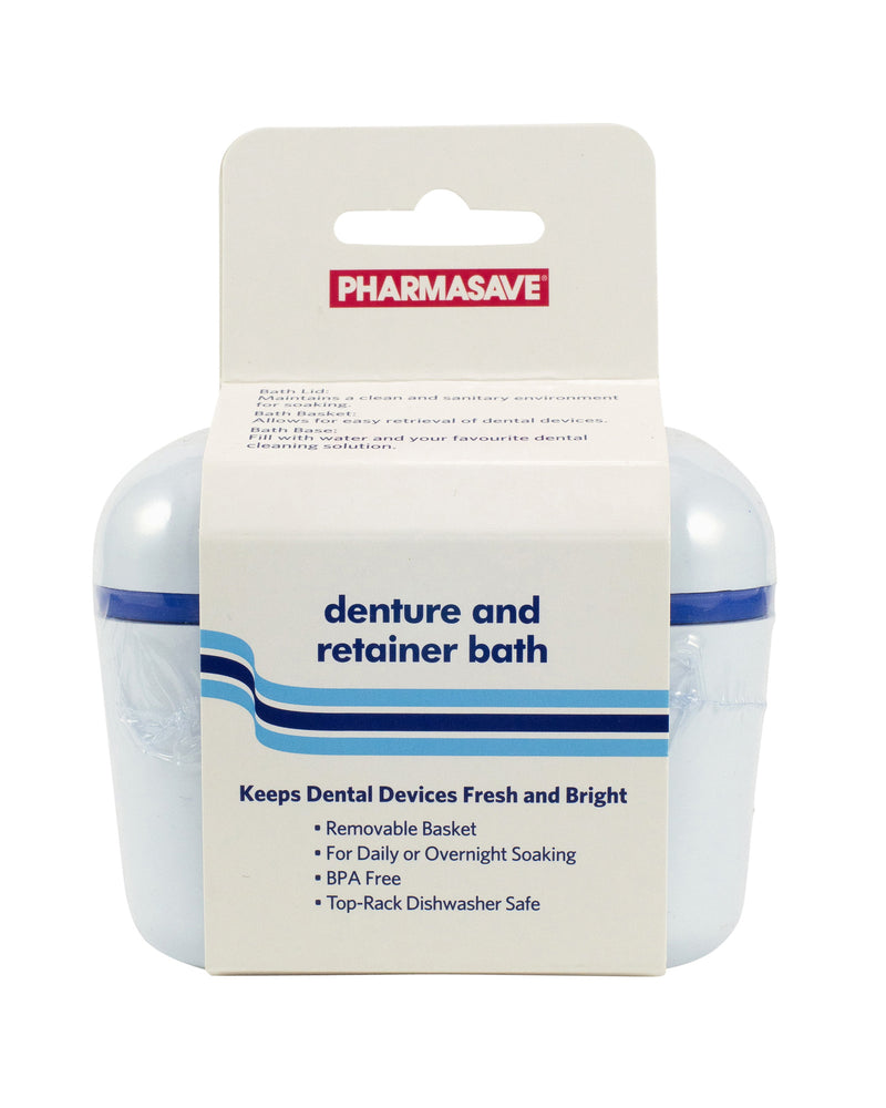 Pharmasave Denture and Retainer Bath - Simpsons Pharmacy