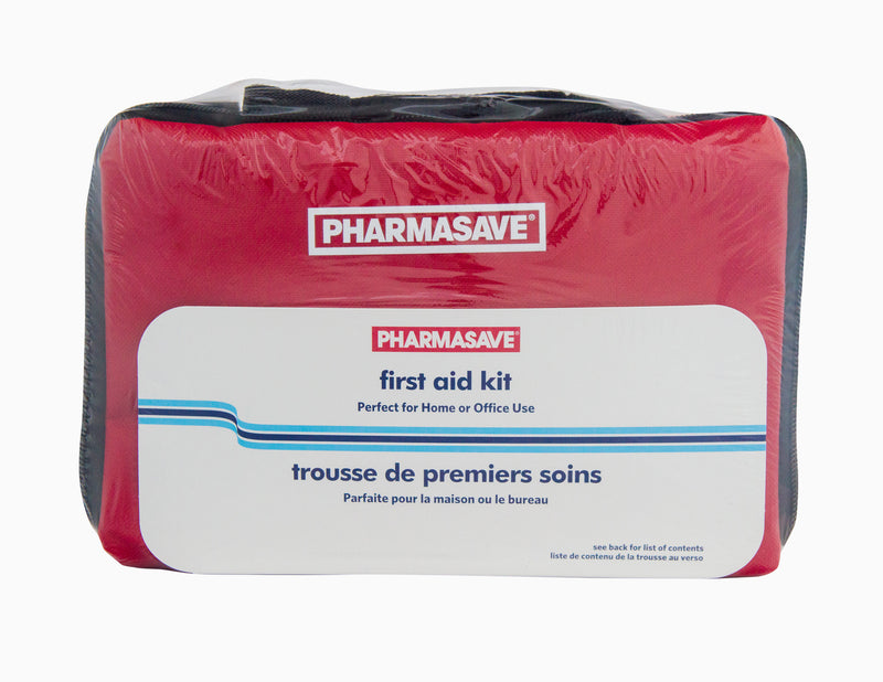 Pharmasave First Aid Kit Red Pouch - Simpsons Pharmacy