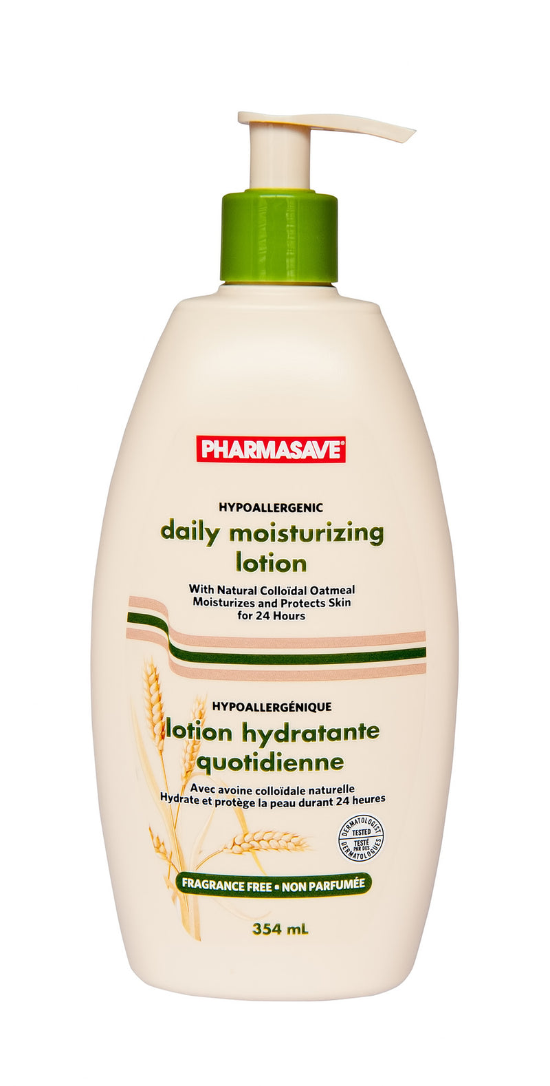 Pharmasave Daily Moisturizing Lotion Fragrance Free - Simpsons Pharmacy