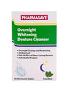 Pharmasave Overnight Whitening Denture Cleanser Tablets - Simpsons Pharmacy