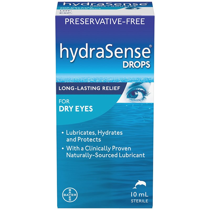 HYDRASENSE DRY EYE DROPS 10ML - Simpsons Pharmacy