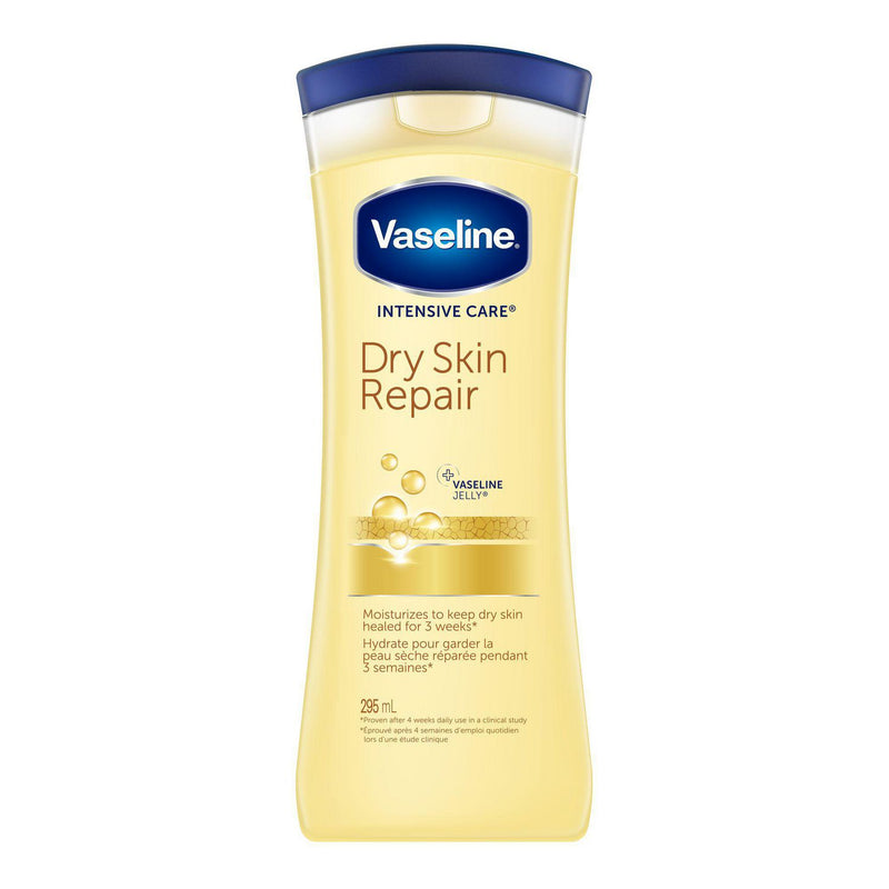 VASELINE INTENSIVE CARE DRY SKIN REPAIR JELLY 295ML - Simpsons Pharmacy