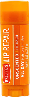 O'Keeffe's Lip Repair Unscented Lip Balm 4.2g - Simpsons Pharmacy