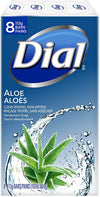 Dial Aloe Deodorant Soap 8 bars - Simpsons Pharmacy