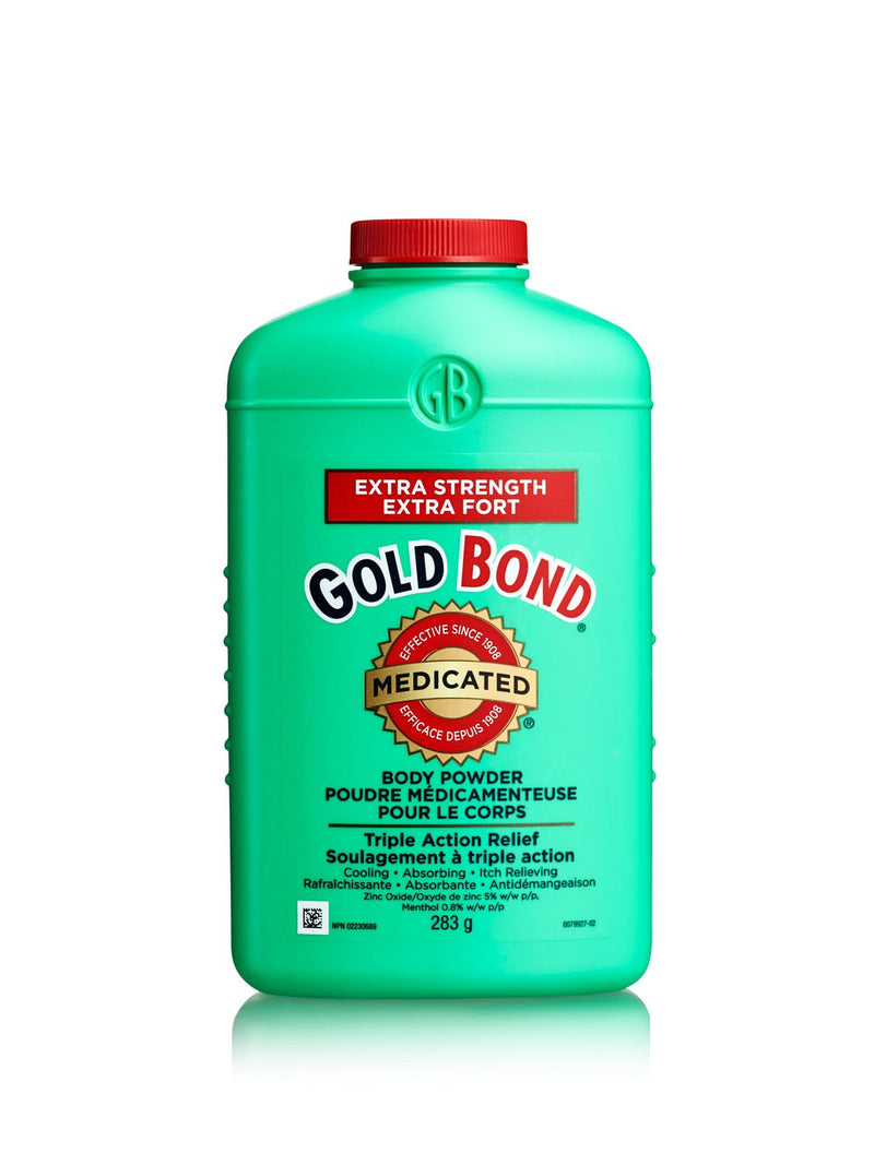 GOLD BOND POWDER - EXTRA STRENGTH 113GR - Simpsons Pharmacy