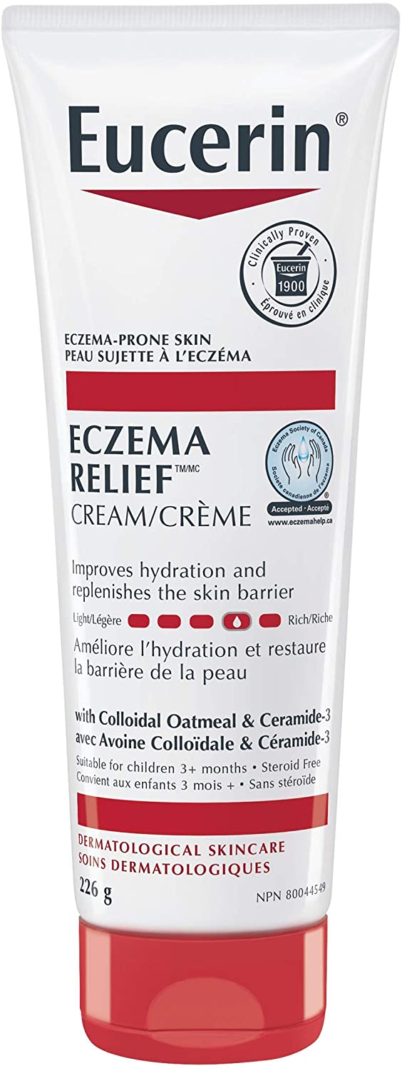 EUCERIN ECZEMA RELIEF BODY CREAM 226GR - Simpsons Pharmacy
