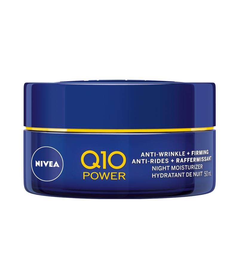 NIVEA Q10 POWER ANTI WRINKLE NIGHT MOISTURIZER 50ML - Simpsons Pharmacy