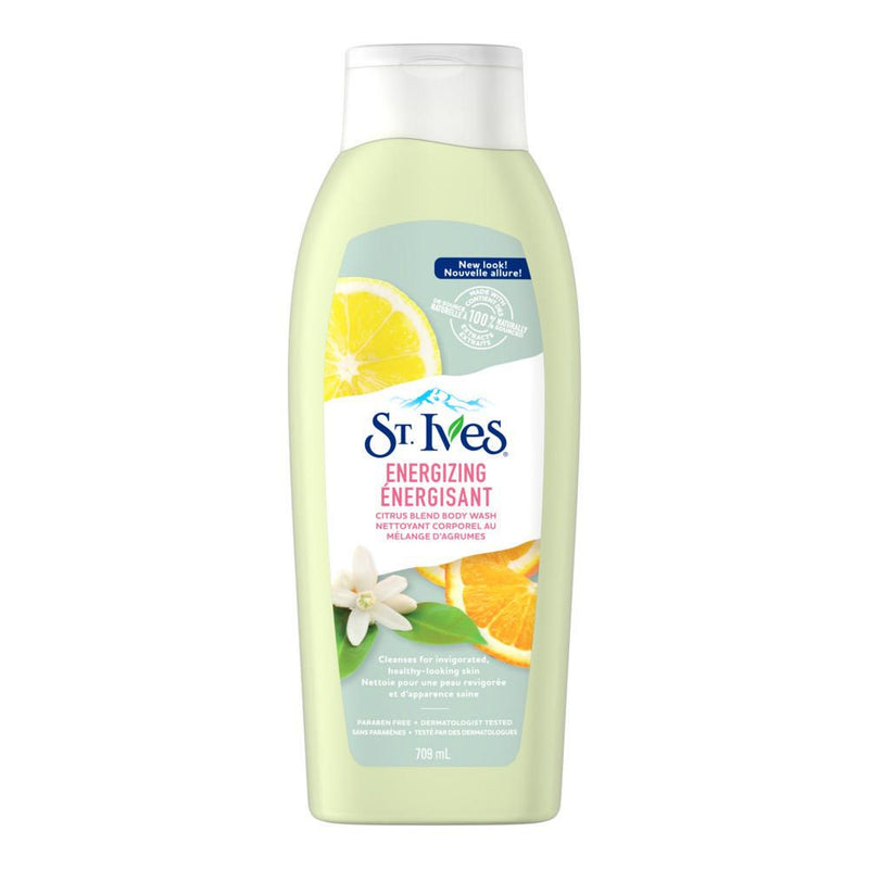 St. Ives Energizing Citrus Blend Body Wash 709ml - Simpsons Pharmacy