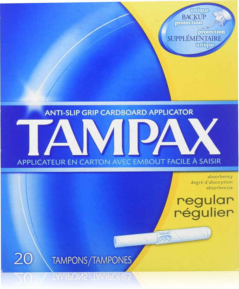 TAMPAX TAMPONS - REGULAR 20S - Simpsons Pharmacy