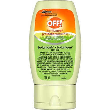 OFF! Family Care Insect Repellent Botanicals Lotion 118ml - Simpsons Pharmacy