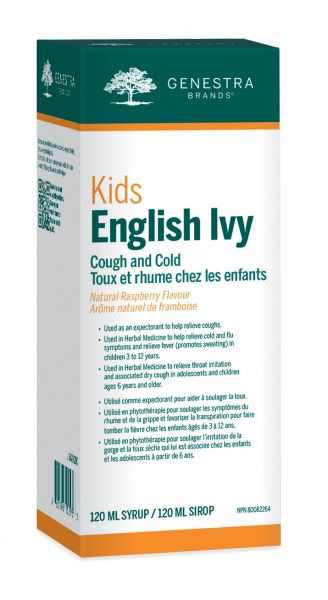 Kids English Ivy Cough and Cold Syrup - Simpsons Pharmacy