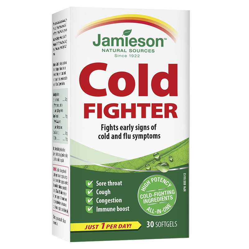 JAMIESON COLD FIGHTER GELCAP 30S - Simpsons Pharmacy