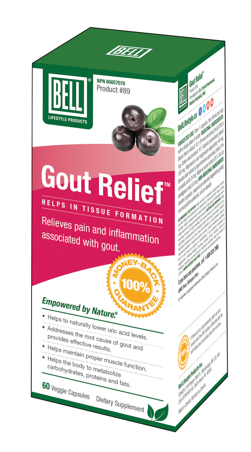 Gout Relief - Simpsons Pharmacy