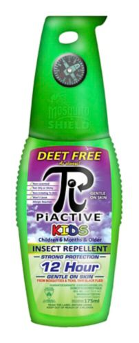 PIACTIVE Kids Insect Repellent 175ml - Simpsons Pharmacy