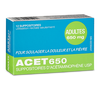 ACET 650mg Rectal Suppositories - 12 Units
