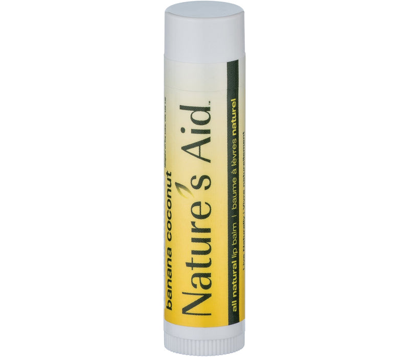 Nature's Aid Banana Coconut Lip Balm - Simpsons Pharmacy