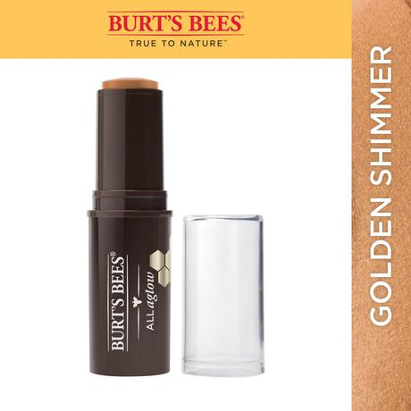 Burt's Bees All Aglow Bronzer Stick - Golden Shimmer - Simpsons Pharmacy
