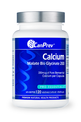 CanPrev Calcium Malate Bis-Glycinate 200 - Simpsons Pharmacy