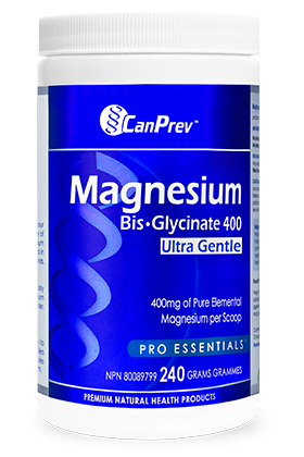 CanPrev Magnesium Bis-Glycinate 400 Ultra Gentle - Powder - Simpsons Pharmacy