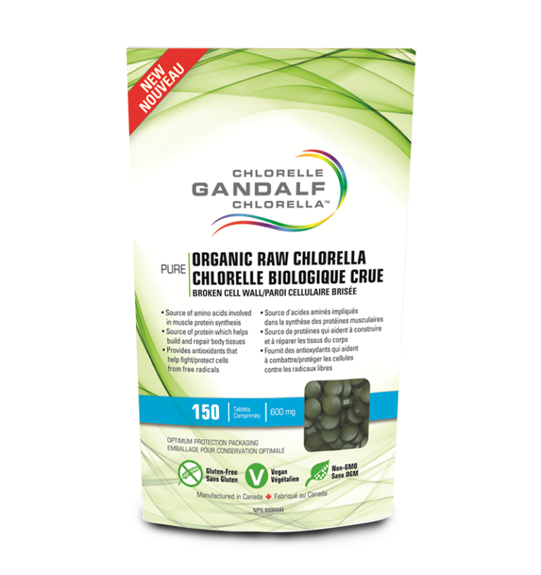 Gandalf Organic Chlorella Tablets 600 mg* - Simpsons Pharmacy