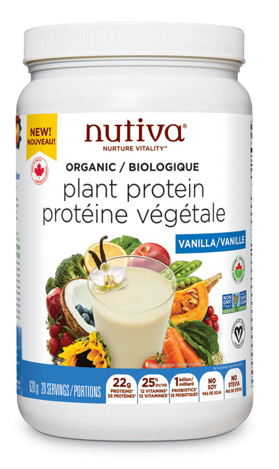 Nutiva - Organic Plant Protein Superfood Smoothie - Simpsons Pharmacy
