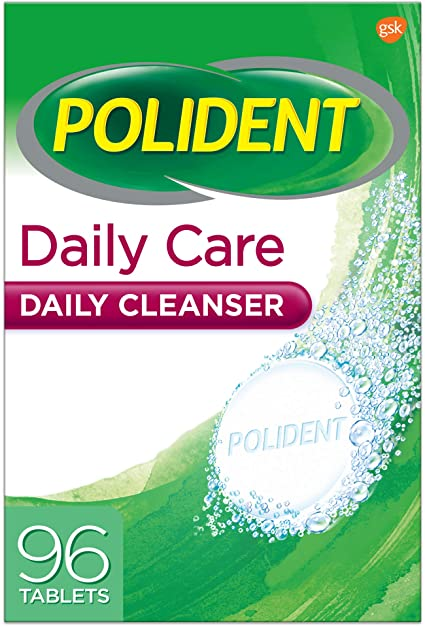Polident Daily Care Daily Cleanser for Dentures - Triple Mint Fresh 96 Tablets - Simpsons Pharmacy
