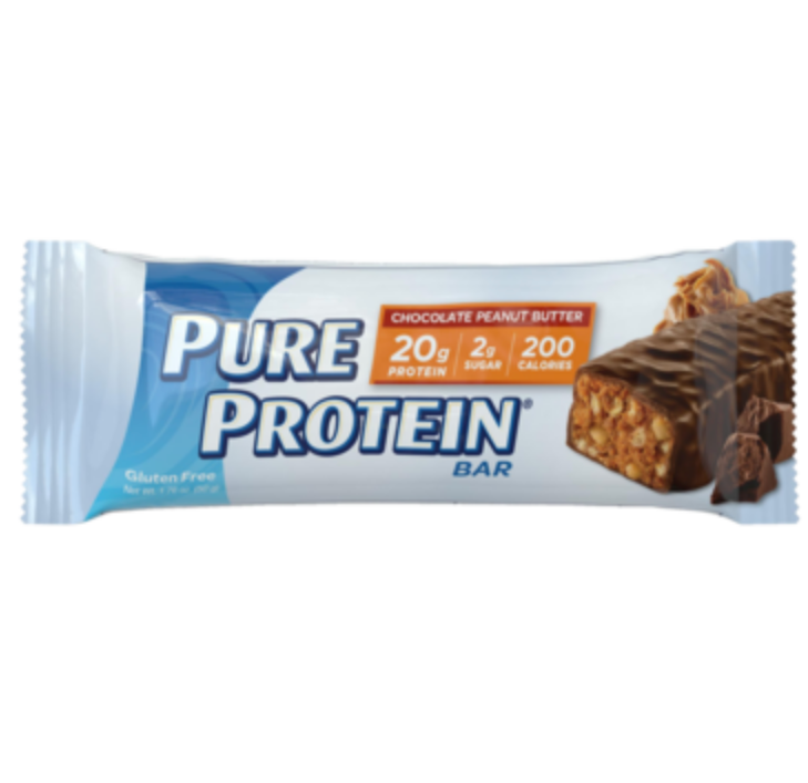 PURE PROTEIN Chocolate Peanut Butter Bar - Simpsons Pharmacy