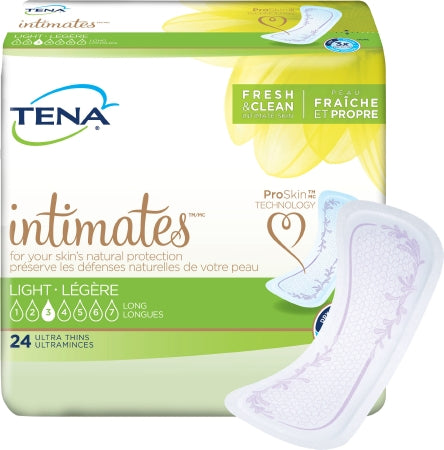 TENA INTIMATES PADS, ULTRA THIN, LONG, 24's - Simpsons Pharmacy
