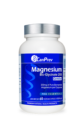 CanPrev Magnesium Bis-Glycinate 200 Gentle - 60 v-caps - Simpsons Pharmacy