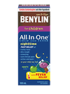 BENYLIN CHILDRENS ALL IN ONE COLD & FEVER SYRUP - NIGHT 100ML - Simpsons Pharmacy