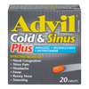 Advil Cold & Sinus Relief PLUS - 20 Caplets