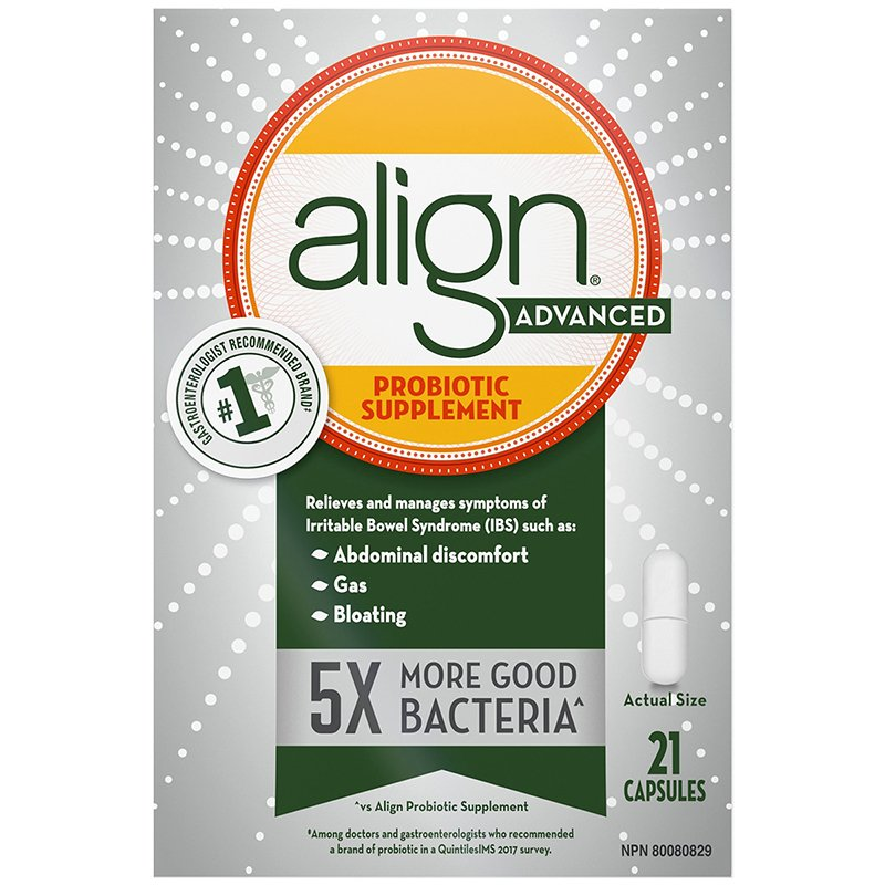 Align Advanced Probiotic 21 capsules - Simpsons Pharmacy
