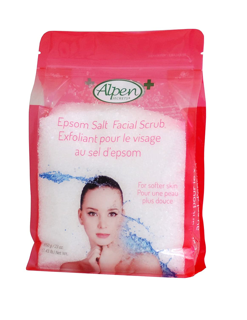 ALPEN SECRETS FACIAL EPSOM SALT 650GR - Simpsons Pharmacy