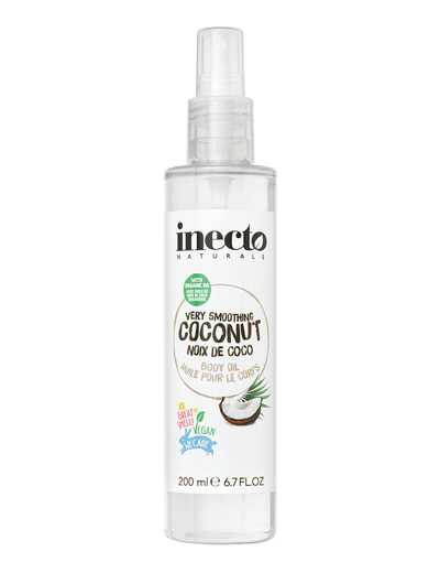 INECTO COCONUT VERY SMOOTHING BODY OIL 200ML - Simpsons Pharmacy