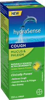 HYDRASENSE MUCUS & PHLEGM COUGH SYRUP 150ML - Simpsons Pharmacy