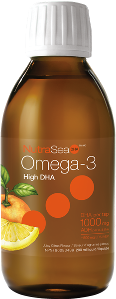 NutraSea DHA / (Juicy Citrus) - Simpsons Pharmacy