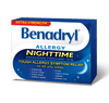 Benadryl Extra Strength Allergy Relief Nighttime 50mg - 24 Caplets - Simpsons Pharmacy