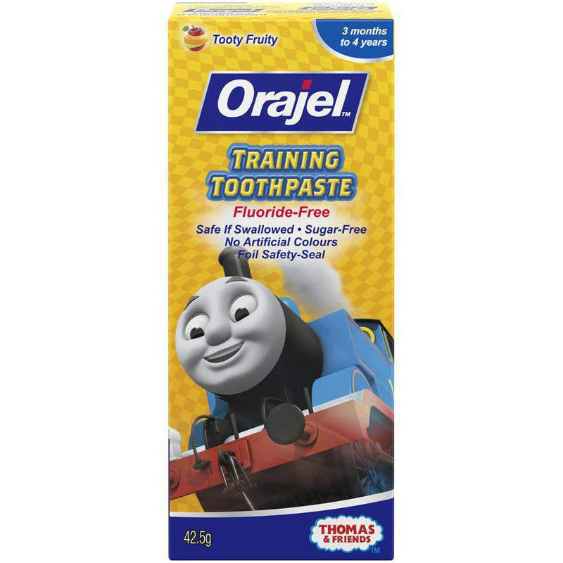 Orajel Training Thomas & Friends Toothpaste - Tooty Fruity 42.5g - Simpsons Pharmacy