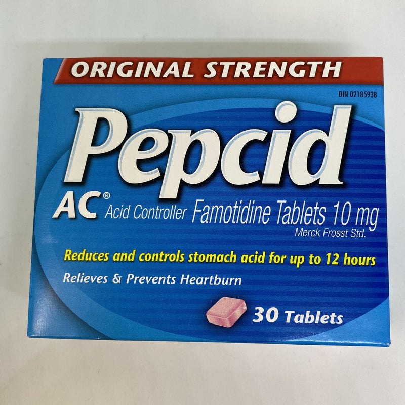 Pepcid AC Original Strength 10 mg - 30 tablets - Simpsons Pharmacy