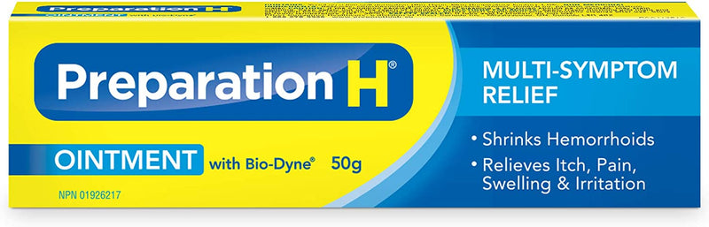 Preparation H Ointment with Bio-Dyne - 50g - Simpsons Pharmacy