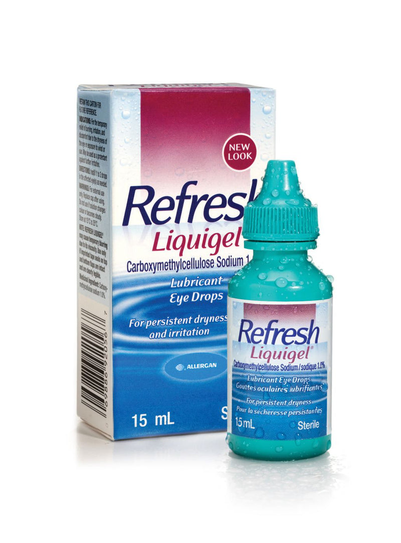 Refresh Liquigel Lubricant Eye Drops - 15mL - Simpsons Pharmacy