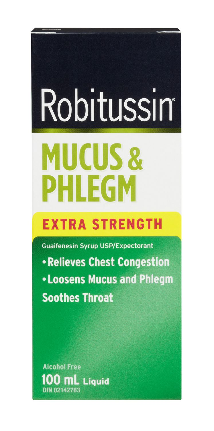 Robitussin Extra Strength Mucus & Phlegm Liquid- 100mL - Simpsons Pharmacy