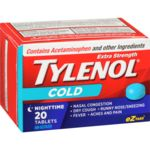 Tylenol Extra Strength Cold Nighttime - 20 Tablets - Simpsons Pharmacy