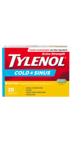 Tylenol Extra Strength Day Time Cold & Sinus - 20 Caplets - Simpsons Pharmacy